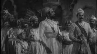 Shivaji Maharaj confronts Aurangzeb