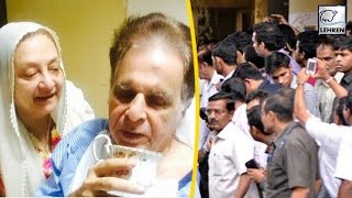 Dilip Kumar THANKS His FANS For Prayers | Lehren Retro