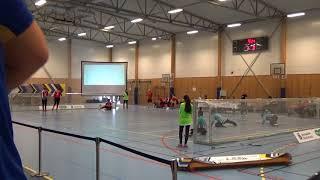 2018 Goalball World Championships Belguim v Turkey 1st Half