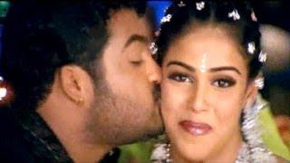 Samba Movie || Nandamuri Chandamama Video Songs || NTR Jr , Bhoomika , Genelia