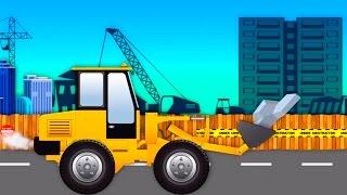 Monster Truck Bulldozer Videos For Kids | Monster Trucks For Children