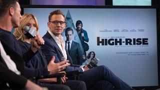 Tom Hiddleston, Sienna Miller, Luke Evans and Ben Wheatley of High-Rise on AOL - April 20, 2016