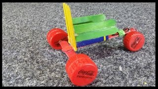 Faire Tricycle 9v -Mini voiture Electrique DIY - jouet - recyclage - kids toy