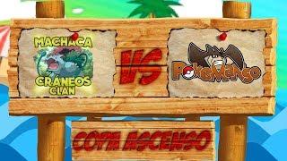 Pokémon Sol y Luna LCE Temporada 3 - Machacacráneos Clan VS Pokémanso - Copa ascenso ronda 1