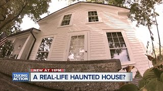 A real life haunted house?