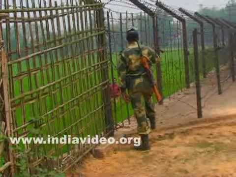 Tripura Bangladesh border fence India