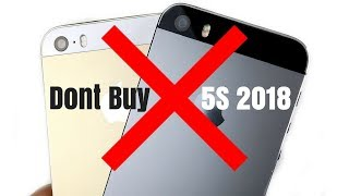 DONT BUY iPHONE 5S 2018!!
