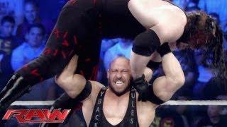 Raw - Ryback's path of destruction: Raw, June 10, 2013