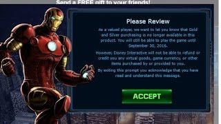 Marvel Avengers Alliance: MAA 1 and 2 are shutting down?!