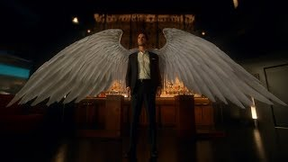 Lucifer Reveal His Wings to Amanadiel (S03E01)