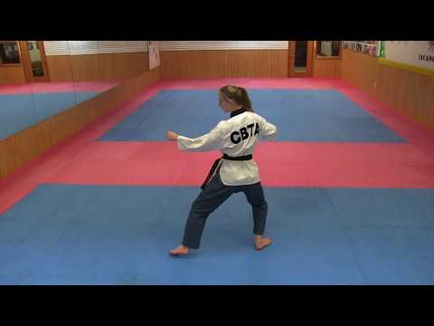 Xxx Mp4 Taekwondo Poomsae Taeguk 8 TKD Form Taegeuk 8 3gp Sex