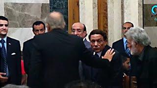 """سلام بارد بين محمود عبد العزيز و عادل إمام فى عزاء """"سعيد صالح"""""""