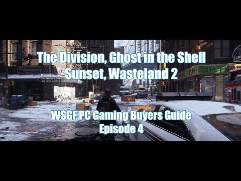 Doom, The Division & Wasteland 2 -  PC Gaming Buyers Guide: Ep 4