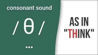 'TH': Consonant Sound /θ/ as in