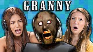 Granny | Horror Game (Teens React: Gaming)