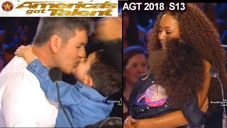 AGT  Parents & Children Simon & Eric Cowell - Mel B & Madison America