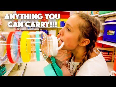 ANYTHING YOU CAN CARRY I LL PAY FOR CHALLENGE kids version of mr BEAST challenge.