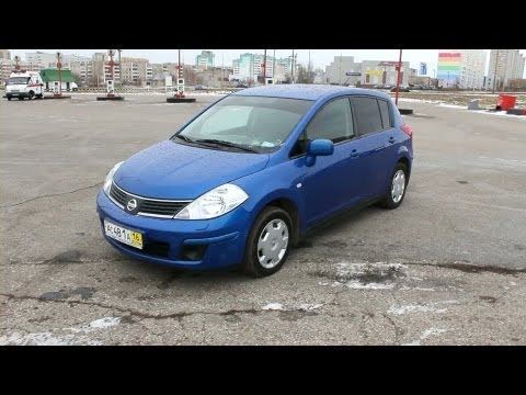 2008 Nissan Tiida. Start Up Engine and In Depth Tour.
