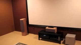 Meu Cinema / My home theater 100% DIY