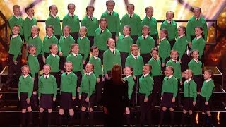 St  Patrick's Junior Choir with Katy Perry Hit Roar | Semi Final 1 | Britain's Got Talent 2017
