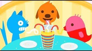 Sago Mini Pet Cafe / Cartoon Games Kids TV