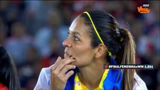 Celebración de Santa Fe del título de la Liga Femenina Aguila   Win Sports