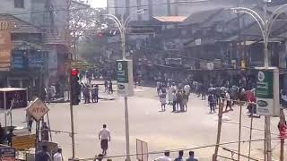 CPM & League fighting at Perinthalmanna on 22/01/2018