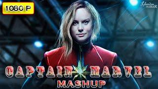 MARVEL- Captain Marvel Mashup Manikarnika Trailer ¦ Hollywood Dubbed Mashup ¦