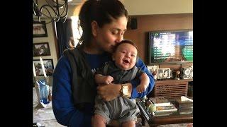 আবারো ক্যামেরার সামনে কারিনা কাপুর ও তার ছেলে তৈমুর -   Kareena Kapoor With Her son Taimur
