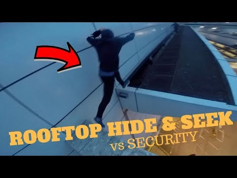 ROOFTOP HIDE AND SEEK vs SECURITY ESCAPE