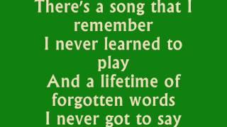 Parachute  Chris Stapleton Lyrics