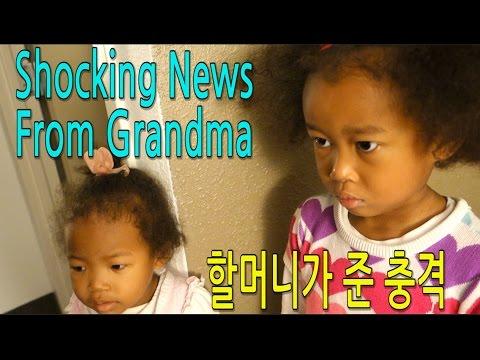 SHOCKING NEWS FROM GRANDMA 할머니가 준 충격 - Good Bye, Grandma. Vlog ep.84