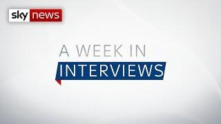 A week in interviews
