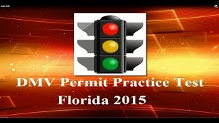 DMV Permit Practice Test in Florida Part 1-Driving Licence Test Questions and Answers