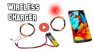 How To Make Wireless Charger At Home   Wireless Mobile Charger Kaise Banaye [Hindi]   New Video