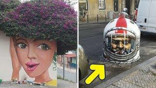 Zeki Sokak Sanatçıları Sıradan Şeyleri Yeniden Tasarlarsa