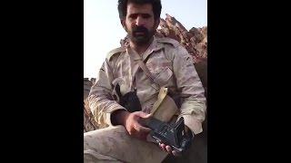 كاميرا الحويّث بيد رجالنا في نجران جاي تتصور وتموت عشان قناة المسيرة الإيرانية