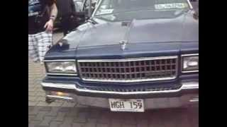 1989 Chevy Caprice red Turn Signal Demonstration