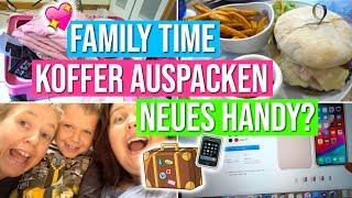 FAMILY TIME!♡   Koffer auspacken   Neues Handy?   Vanessa Nicole