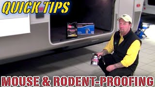 Mouse & Rodent-Proofing Your Camper | Pete's RV Quick Tips (CC)