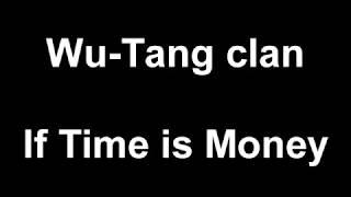 Method Man: If Time Is Money LYRICS