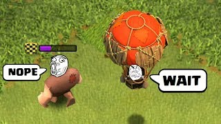 COC Funny Moments, Glitches, Fails and Trolls Compilation #4 | CLASh OF CLANS The Giant's Surprise