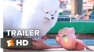 The Secret Life of Pets Official Trailer #2 (2016) - Kevin Hart, Jenny Slate Animated Comedy HD