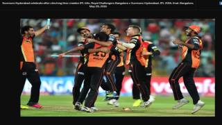IPL 2016 final match highlights - RCB vs SRH - Final - IPL - 2016 - David Warner - SRH won by 8 runs