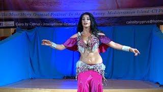 Alex DeLora Belly Dancer Drum Solo - 6th Cairo by Cyprus Festival 2018