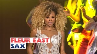 Fleur East - 'Sax' (Live At The Jingle Bell Ball 2015)