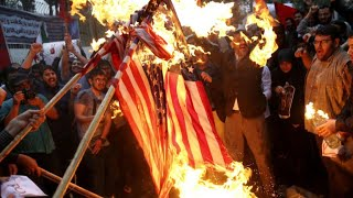 Anti-America protests in Iran after Trump leaves nuclear deal