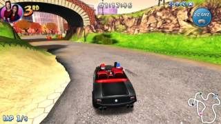 Carly & Spencer Muscle Car Game For Kids Gameplay | Best Kid Games | Lego Formula Cars Racing Game