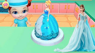 BARBIE CAKE GAMES FOR GIRLS- ANDROID GAMEPLAY HD/ Real Cake Maker 3D