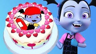 Vampirina Birthday Cake - Baby Cooks Yummy Disney Junior Cake - Real Cake Maker 3D Kids Game